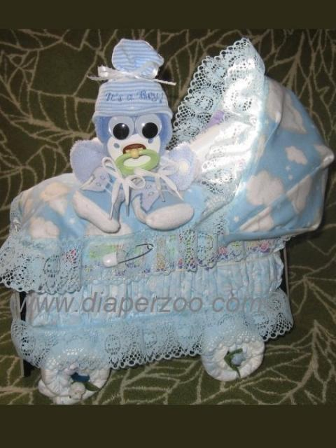diaper cake stroller instructions