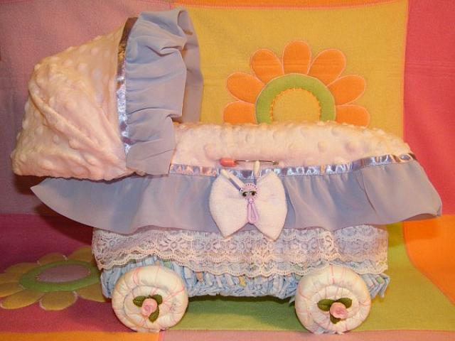 Diaper Baby Carriage E-BOOK