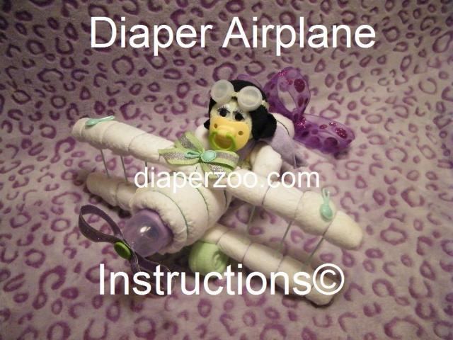 Diaper Airplane E-BOOK
