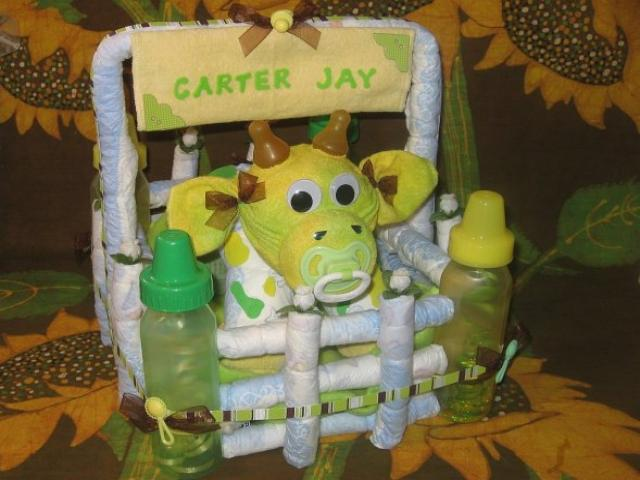 Diaper Cake Instructions Diaperzoocom Baby Showers Diaper Cakes