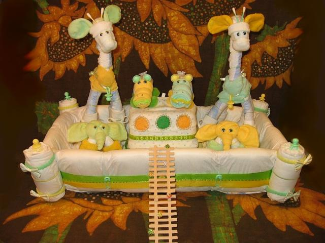 Noahs ark whimsical baby shower ensemble party for Noah s ark decorations