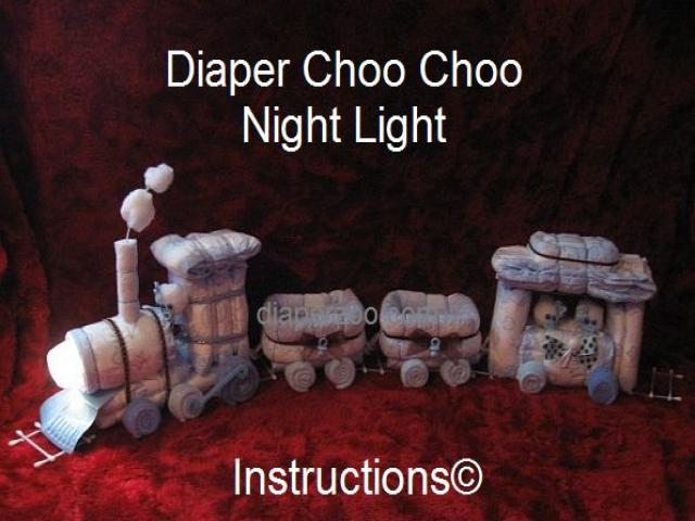 Diaper Choo Choo Train E-BOOK