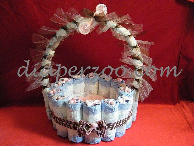 Diaper Cake Instructions Diaperzoo Com Baby Showers